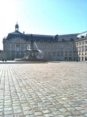 Bordeaux and gorgeous XVIIIth century architecture