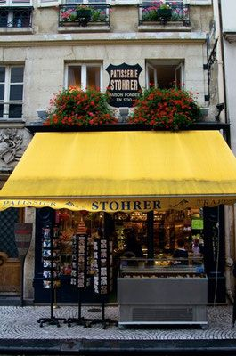 Famous Stohrer store rue Montorgueil, 75002 Paris
