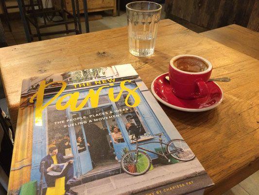 Café and atmosphere at Matamata rue d'Argout, 75002