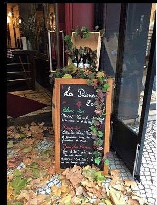 Le Beaujolais Nouveau in November, on rue Montorgueil , 75002