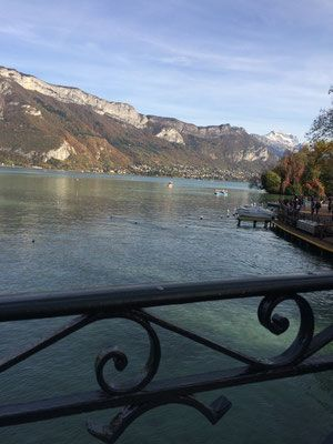 The Lake in Annecy