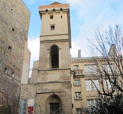 Tour Jean Sans Peur rue Etienne Marcel, 75002