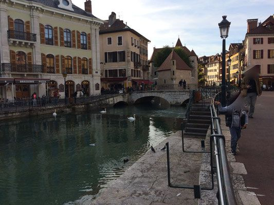 Annecy, Venice  in the Alps