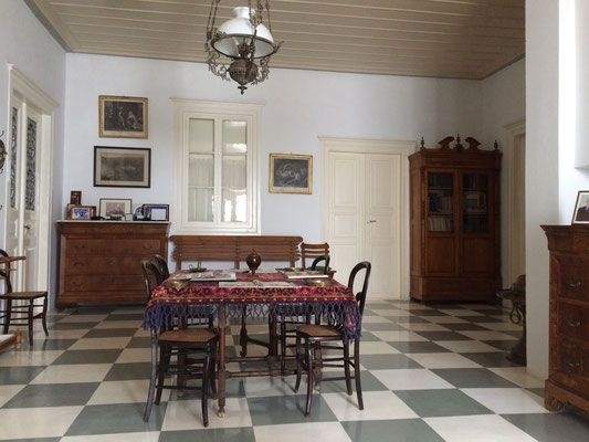 BnB, rental decorated with antique furniture, Greece