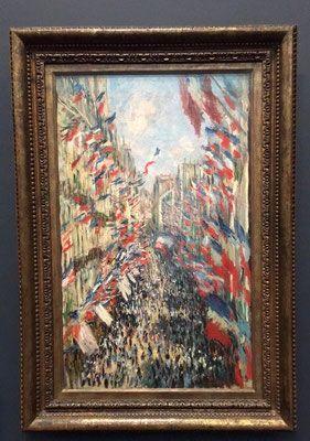 Monet, 14 Juillet rue Montorgueil ( Orsay)
