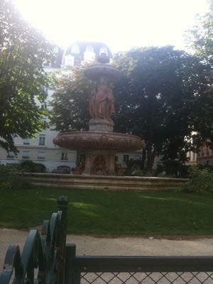 Square Louvois, rue de Richelieu, Paris 75002