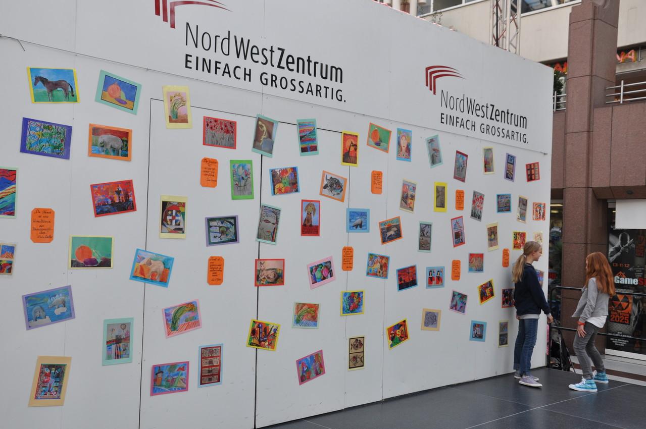 Ausstellung im Nordwestzentrum Frankfurt 13.09. - 10.10.2012