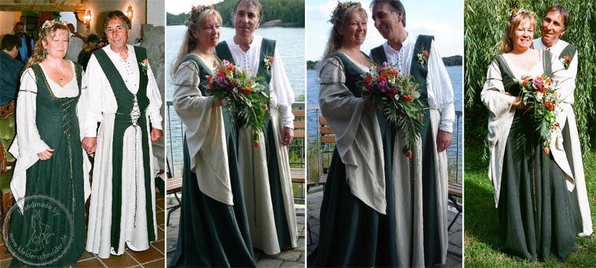 Mittelaltergewand, Mittealterkleid, Gewandung