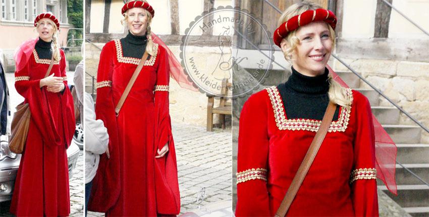 Mittelalterkleid Burgfräulein