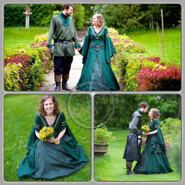 Mittelaltergewand Hochzeitsgewandungen