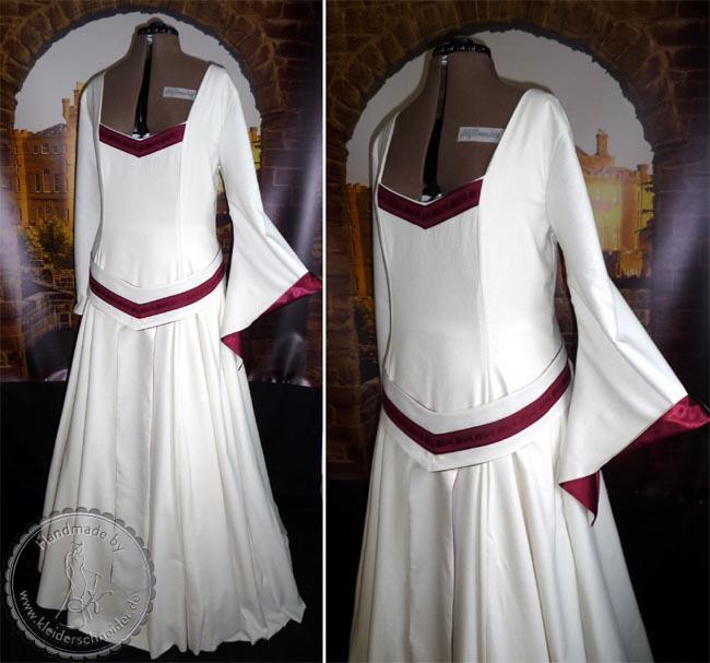 mittelalter brautkleid, Brautgewand, Mittelalterkleid