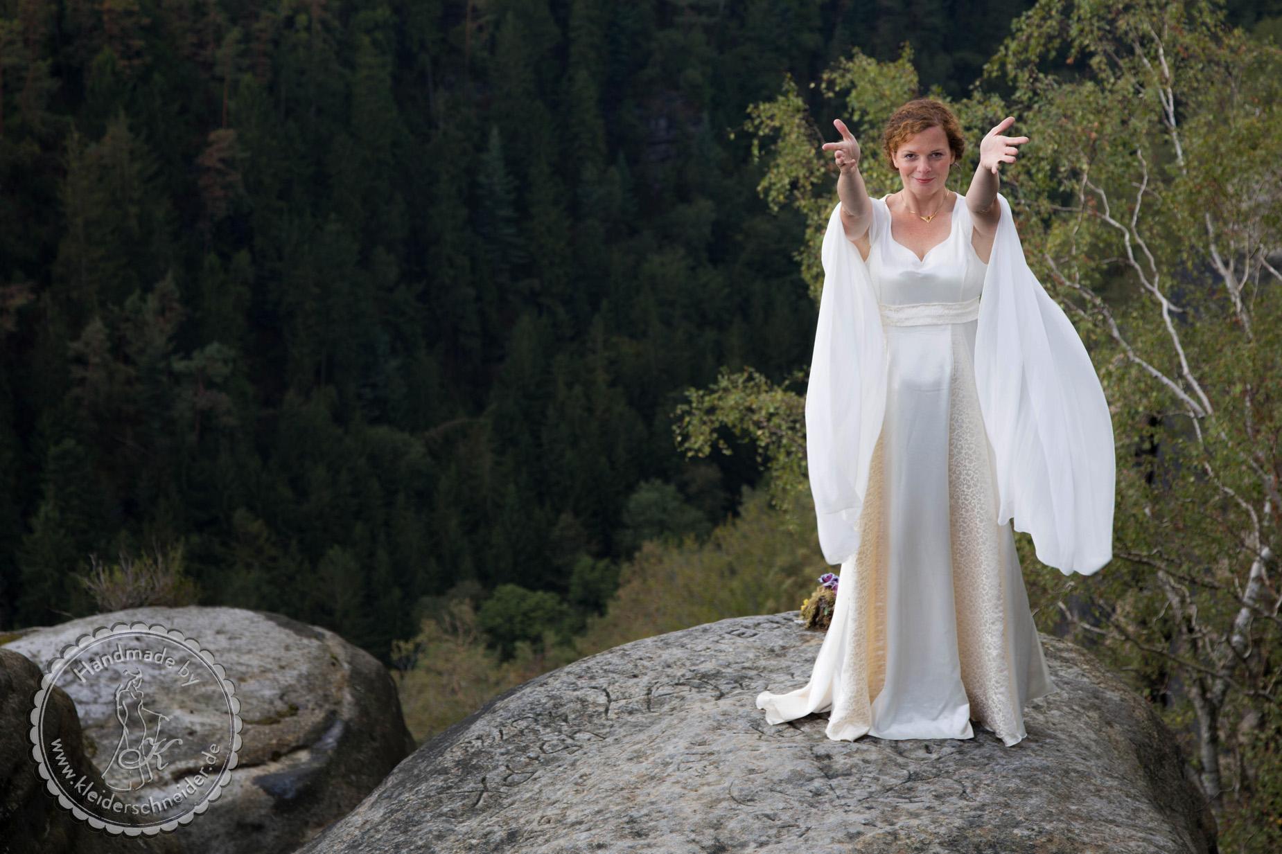 Feengleiches Brautkleid