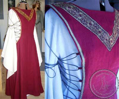 Teufelsfenster Gewand, Mittelalterkleid, Mittelaltergewand