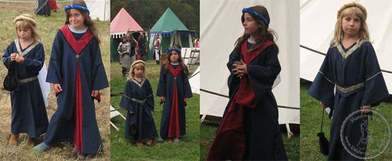 Kindergewand, Mittelalterkleid, Gewandung