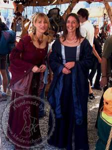 Mittelalterkleid, Mittelaltergewandungen, Gewand
