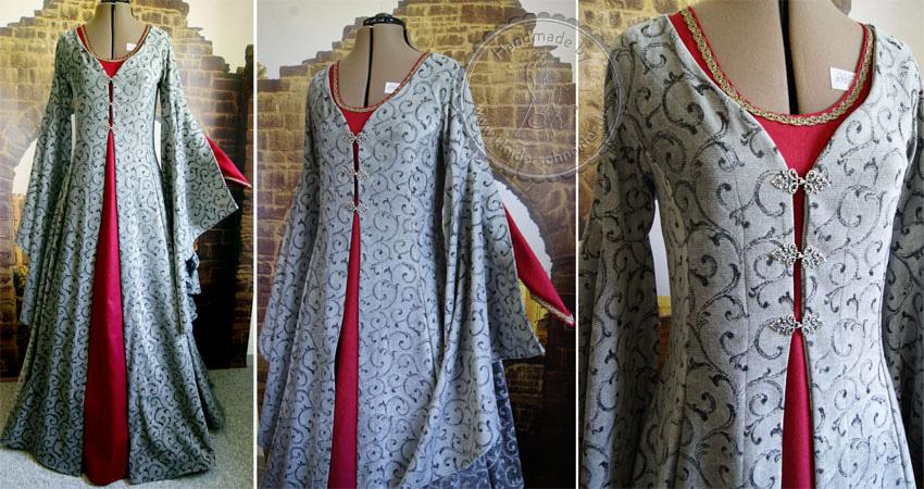 Mittelalterliche Gewandungen Mittelalterkleid