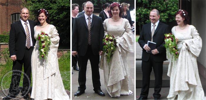 Mittelalterliches Brautkleid, Mittelalterkleid, Gewandungen