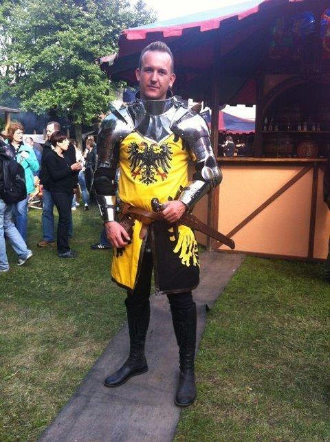 Wappenrock, Waffenrock, Ritter Gewand, Mittelaltergewand,
