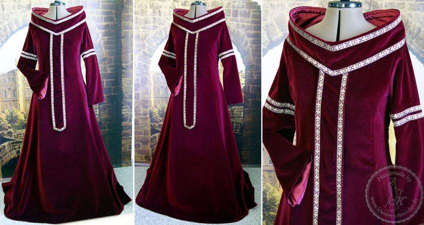 Mittelalterkleid Gewandung
