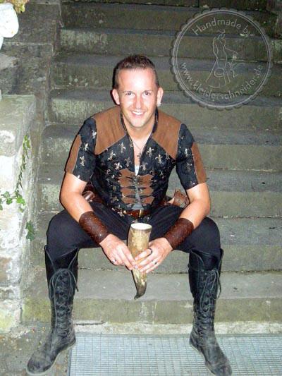 mittelalterliche Jacke Mittelaltergewand
