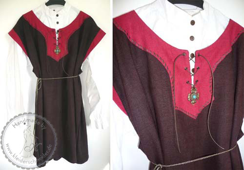 Tunika, keltisches Brautgkleid, Mittelalterkleid, Gewandungen