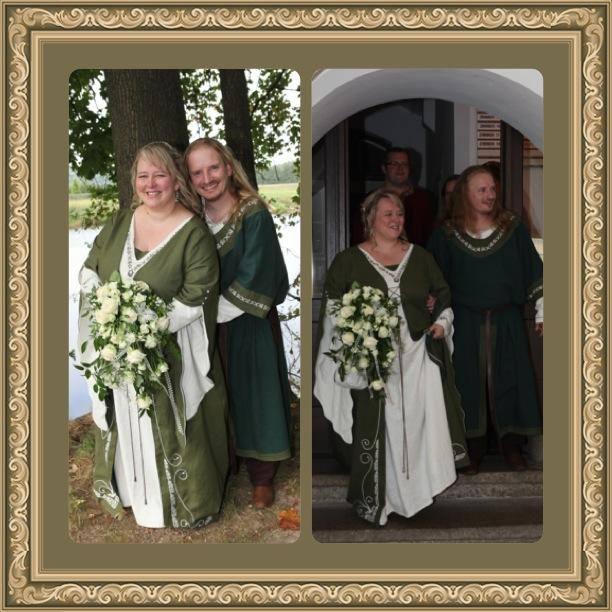 Mittelalterkleid Hochzeit