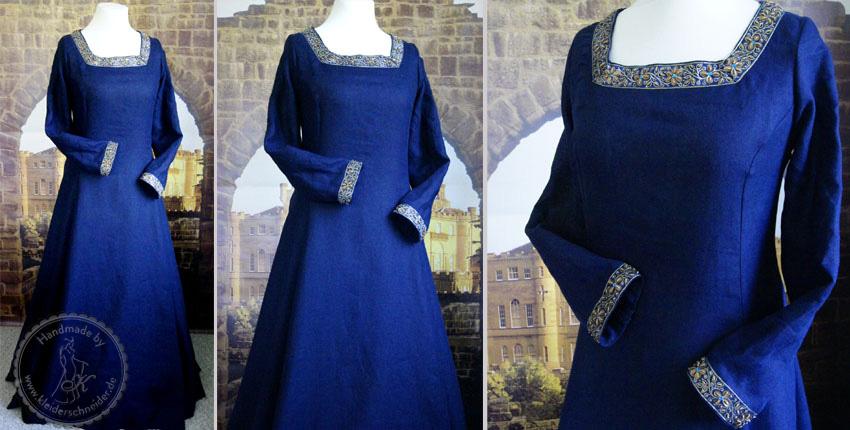 Mittelalterkleid, Mittelaltergewand, Gewandung