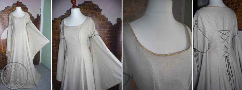 Mittelalterkleid, Mittelaltergewandung