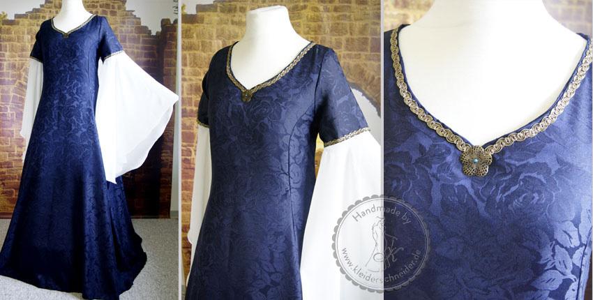 mittelalterliches Brautkleid Gewand