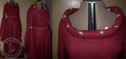 Mittelalterliche Hochzeit, Mittelalter Gewand, Mittelalterkleid