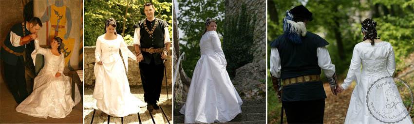 Mittelaltergewand, Brautkleid, Gewand, Mittelaltergewänder, Hoppelande