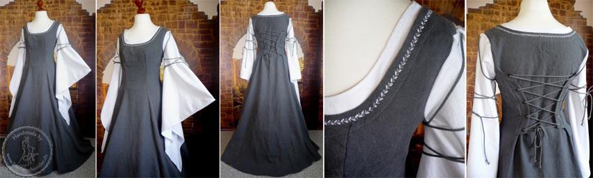 Leinenkleid, Gewand, Mittelaltergewand, Mittelalterkleid