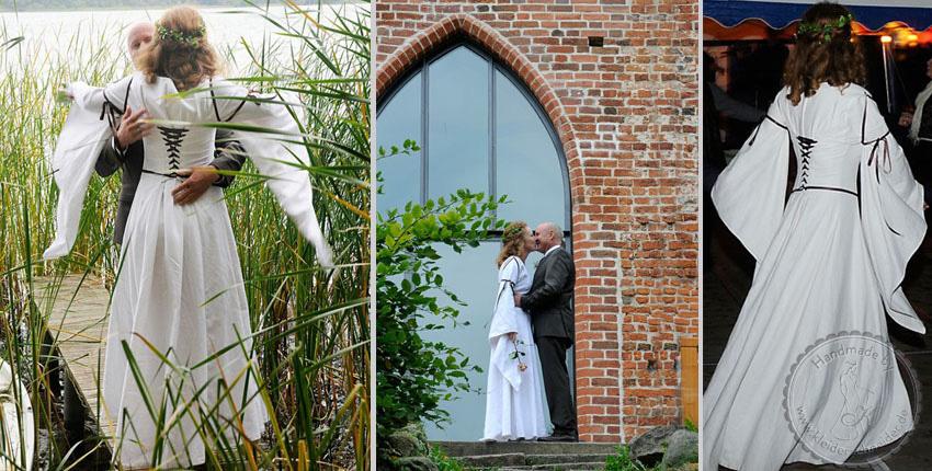 Mittelaltergewand Brautkleid