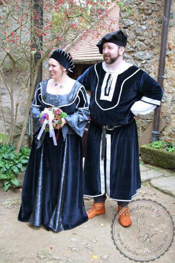 Mittelalterkleid, Mittelalterhochzeit, Mittelaltergewänder