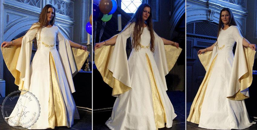 Hochzeitsgewand, Brautkleid, Mittelalterkleid
