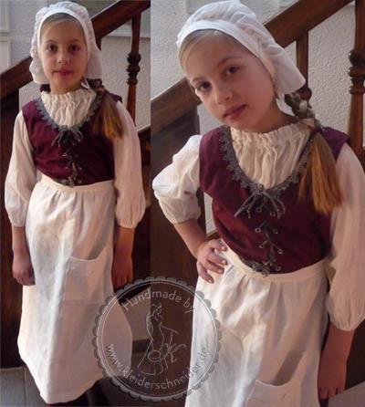 Kindergewand Maid