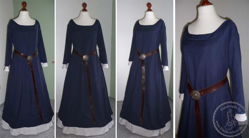 Mittelalterkleid, mittelalter Gewand, Magdgewand