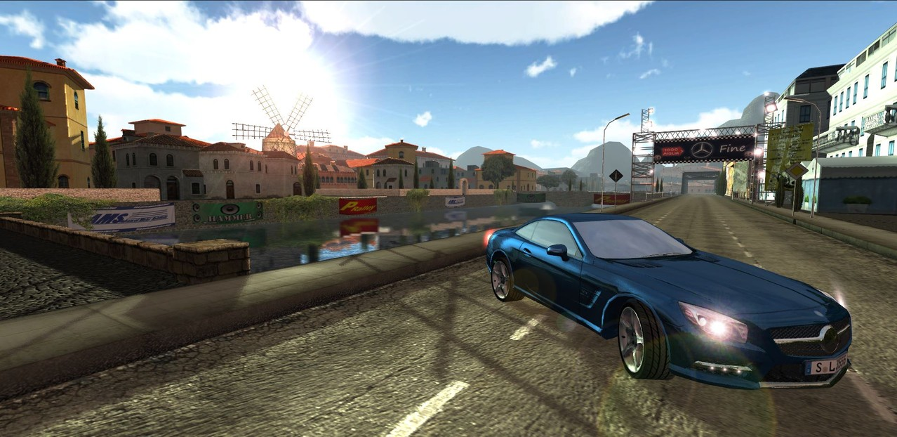 """Ingame beauty screenshot for """"Knowledge Race - Mille Miglia"""""""