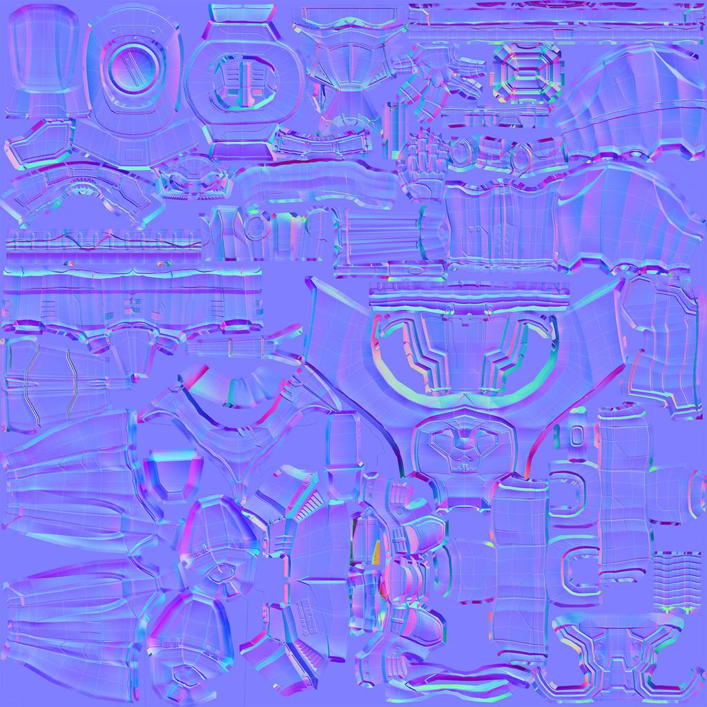 Normalmap 2048 x 2048