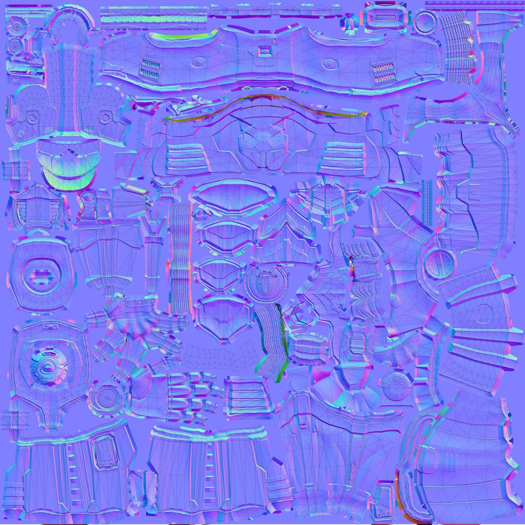 Normalmap 2048x2048