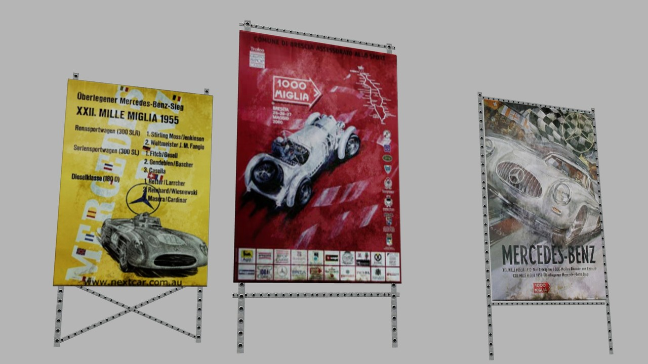 """Props for """"Knowledge Race - Mille Miglia"""""""