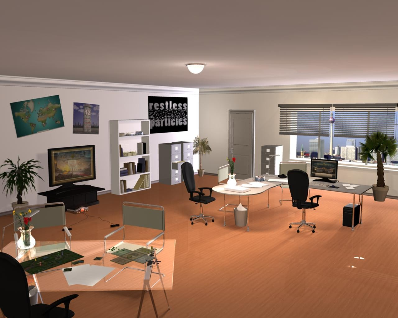 My first interior rendering ever