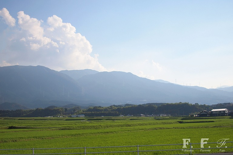 福岡市早良区脇山地区の風景