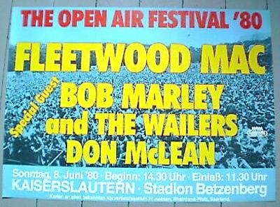 Plakat #1 Rockkonzert Kaiserslautern Betzenberg Stadion 1980