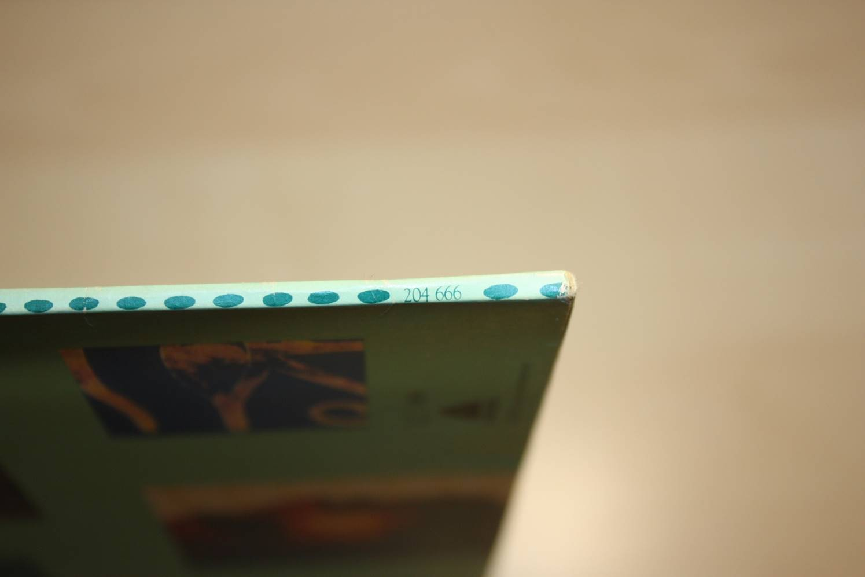 Rücken: Katalog-Nr.
