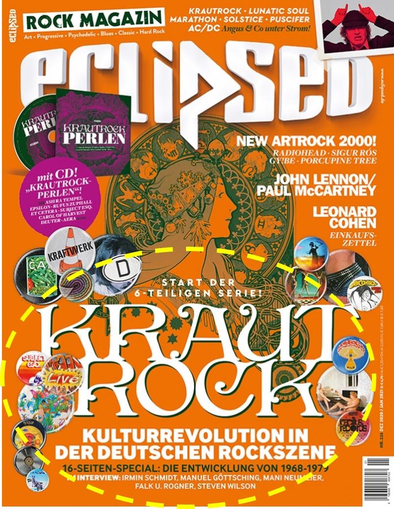 Musikmagazin eclipsed - 6x Krautrock