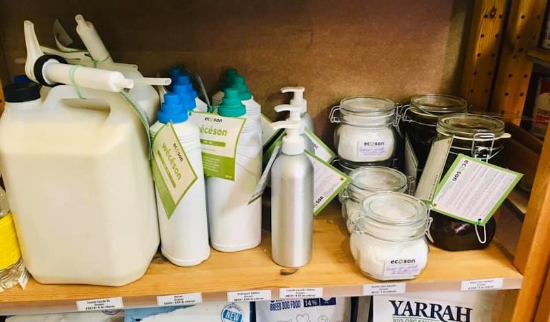 Ecoson - Produits ménagers et ateliers cosmétiques - Werbomont