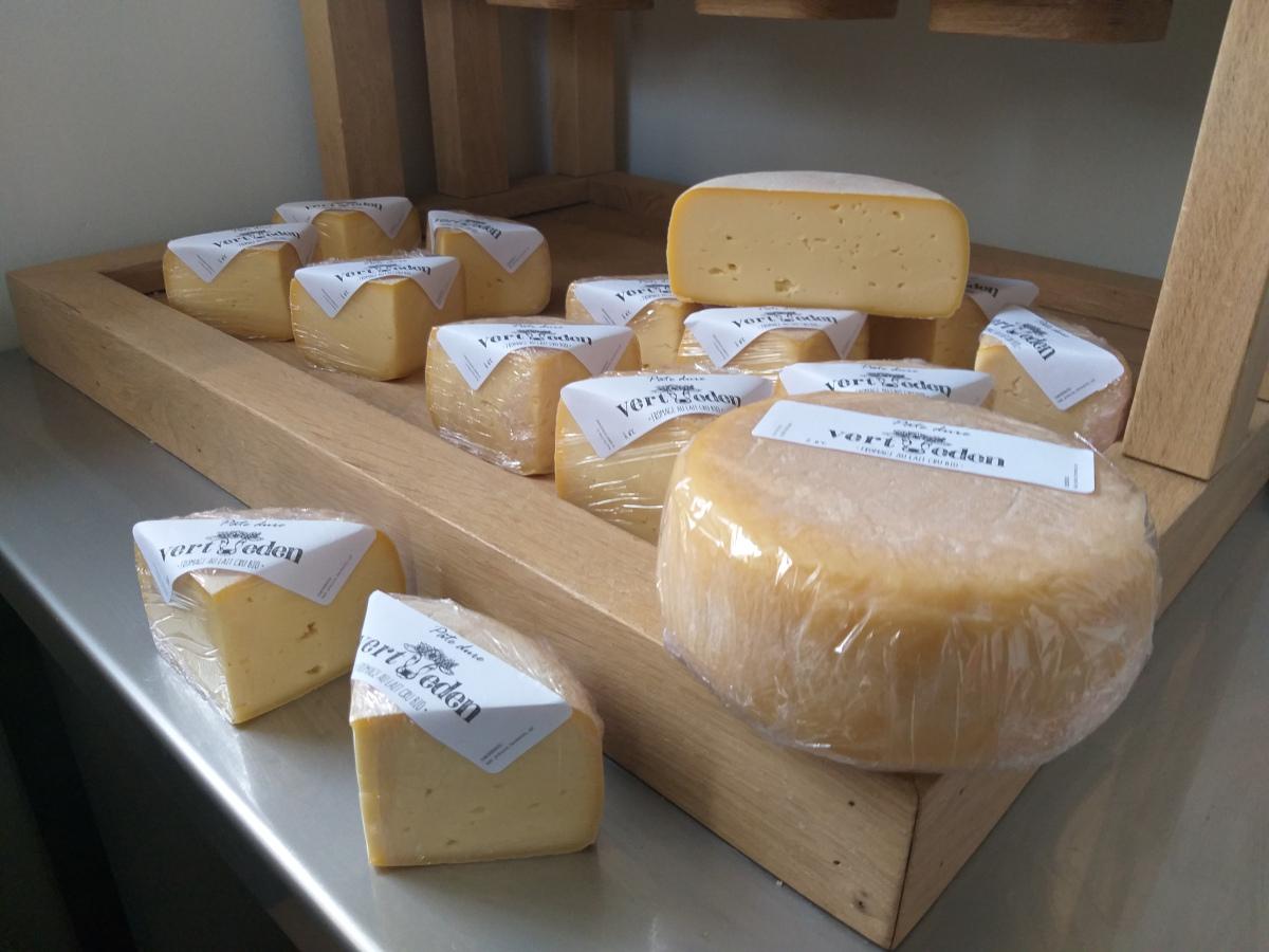 Vert Eden - Fromages au lait cru de vache bio