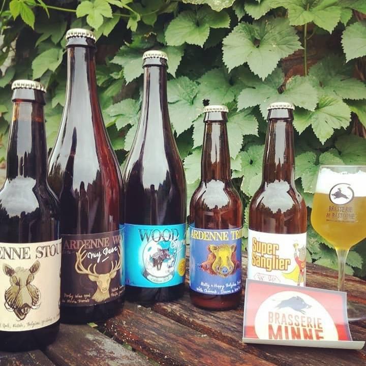 Bières de la Brasserie Minne