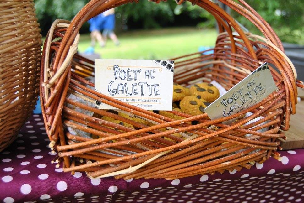 Poèt'Al'Galette - Gaufres aux légumes et pâtisseries salées